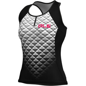 Alé Cycling Solid Hexa Tank Top Women black-white